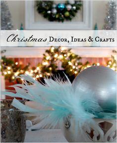 Christmas Decor, Ideas and Crafts