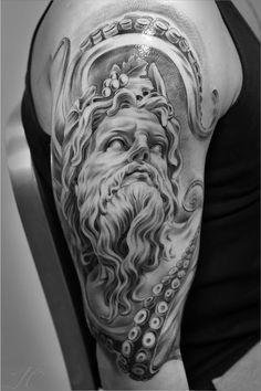 Tatuagem de Poseidon 11