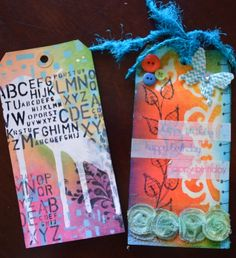 Multimedia tags by Angela Bolton