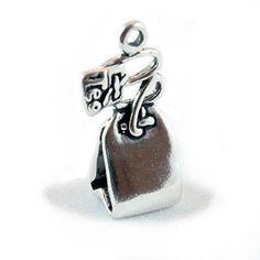 925 Sterling Silber Charm School UK 3D Teebeutel - http://schmuckhaus.online/charm-school-uk/925-sterling-silber-charm-school-uk-3d-teebeutel
