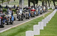 Hollywood, CA - April 12, 2015: Heroes Ride - Los Angeles benefits the families of fallen officers as well as Veterans organizations: http://www.cyclefish.com/event/30028/