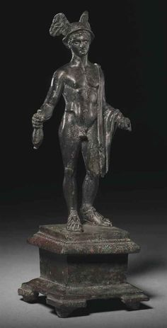 A ROMAN BRONZE MERCURY | CIRCA 1ST CENTURY A.D | Ancient Art & Antiquities Auction | Ancient Art & Antiquities, statue | Christie's