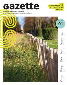Couverture de La Gazette | Journal papier interne de la Cité internationale | Eté 2018