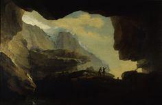Caspar Wolf - The Crystal Cave Caspar Wolf, Wolf Hat, Romantic Period, Romanticism, Loki, Landscape Photography, Artist, Image, Rock Formations