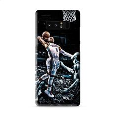 Russell Westbrook paint dunk Samsung Galaxy Note 8 3D Case Caseperson