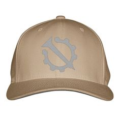 Hello Internet Official Flag (Nail And Gear) Embroidered Baseball Cap