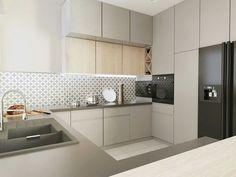 Kitchen Cabinets Extend to Ceiling – Kitchen Ideas Gray Kitchen Backsplash, Kitchen Cabinets To Ceiling, Kitchen Ceiling Lights, Kitchen Chairs, Modern Farmhouse Kitchens, Home Kitchens, Kitchen Cabinet Dimensions, Kitchen Room Design, Kitchen Photos
