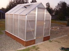 Building and Improving the Harbor Freight Greenhouse: 11 Steps (with Pictures) 6x8 Greenhouse, Greenhouse Effect, Greenhouse Wedding, Greenhouse Gardening, Greenhouse Ideas, Urban Gardening, Gardening Tips, Harbor Freight Greenhouse, What Is A Conservatory