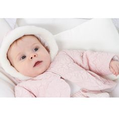 Paz Rodriguez - Girls Dusky Pink Quilted Jacket
