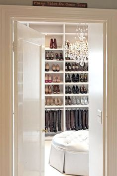 A closet Carrie Bradshaw would love! I'll take the shoes too. Thank you @Laura Filtness for posting this!