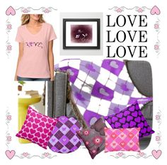 """""""Love love love"""" by jnccreations ❤ liked on Polyvore featuring interior, interiors, interior design, home, home decor and interior decorating"""