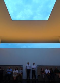 Watching the Sunset and Rainfall Through James Turrell's Rice University Skyspace