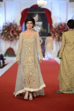 Tabassum Mughal Haute Couture - Pantene Bridal Couture Week - Pakistani fashion - Amazing for walima