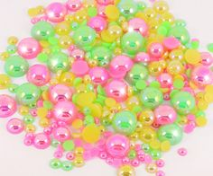 01/07/2016 - Candy Crystal UK, Ebay - Tropical Mix 15g Flat Back Pearls = £2.50 === £217.01