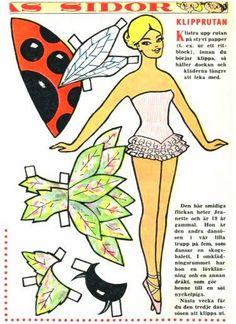 Paper Dolls - Fadinhas, Hadas - Jeanette