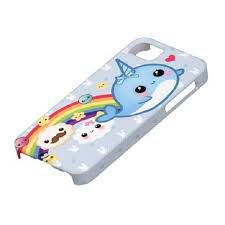 So cute!!!!!!!!! I love narwhals! Narwhat iphone case. Does this come in ipad size? When i get a phone im hope i get this case.