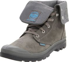 """Palladium Men's Baggy Leather Gusset Boot Palladium. $73.99. A brand-new, unused, and unworn item (including handmade items) in the original packaging (such as the original box or bag) and/or with the original tags attached.. Nubuck. Shaft measures approximately 8.5"""" from arch. Manufactured by Palladium.. Heel measures approximately 1"""". Rubber sole"""