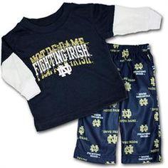 d62927c1951 Notre Dame Kids Pajamas Kids Pajamas