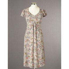 Boden Jersey Tea Dress found on Polyvore