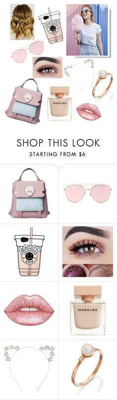 """""""Geen titel #53"""" by faithdestiny2002 ❤ liked on Polyvore featuring LMNT, Lime Crime and Narciso Rodriguez"""
