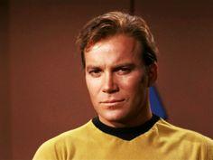 "Capt. James T. Kirk (William Shatner) - Star Trek: The Original Series S01E23: ""A Taste of Armageddon"" (First Broadcast: February 23, 1967)"