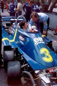 Jody Scheckter - Tyrell Ford - 1976