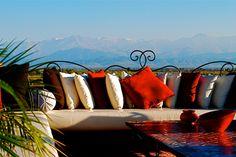 Al MANDILI Private Ressort & Spa Marrakech. Unique et majestueux design, avec vue sur l'atlas hors du commun à Marrakech