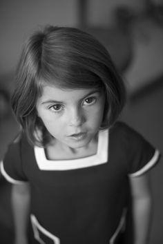 Oscar de la Renta Children's Wear Spring 2013 - DYING over her cute little freckled face!