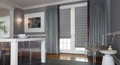 Find your look by browsing inspirational pictures of our custom drapery.