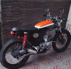 My Cousin Pride, Homebuilt Suzuki A100 Cafe Racer by Himself. Some Classy Two Stroke Motorcycles.