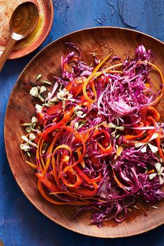 Vibrant Slaw - Images and Recipe by Melina Hammer for Anthology Magazine - See more at: http://anthologymag.com/blog3/2014/04/11/24878/#sthash.NW4oQfoD.dpuf