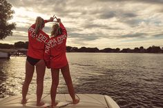Throwing what you know during a romantic sunset. TSM.