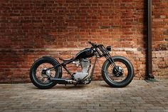 """Suzuki Savage Bobber """"O2"""" by 53 Fast Living #motorcycles #bobber #motos 