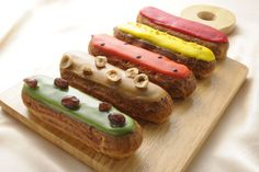 Eclairs of patisserie Sadaharu AOKI paris