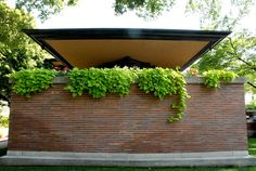 Robie House. Chicago, Illinois. 1910. Prairie Style. Frank Lloyd Wright.