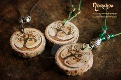 Tree of Life pendants by LuthienSecrets on DeviantArt