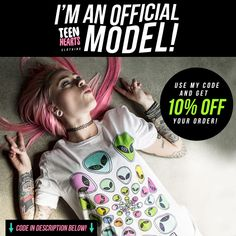 If you want Teen Hearts discount then come here and I'll give it to you: STEFANYBLOG. Use my code and get 10% off. ;)