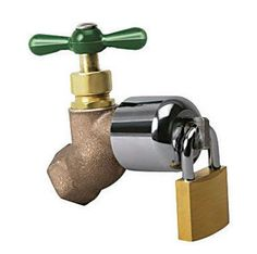 Instant Security For Your Water The Hose Bibb Lock Is Designed To Prevent  Water Waste, Theft And Misuse. It Also Protects Your Outdoor Faucet Against  ...