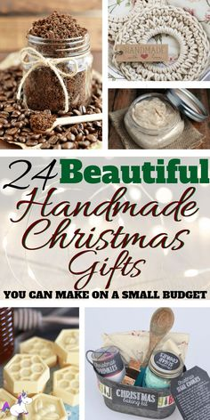 DIY Christmas gifts like these are the answer when you want to give meaningful gifts that you're friends & family will love without breaking the bank!