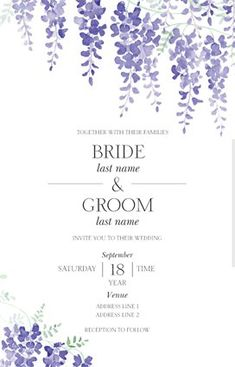 Personalized Invitations & Announcements Designs, Wedding Invitations, Wedding Events Invitations & Announcements Page 3 | Vistaprint