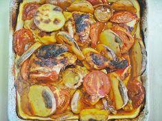 Maryam's Culinary Wonders: 764. Iraqi Chicken Tepsi