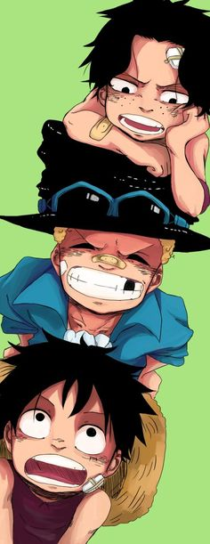 Ace,Sabo,Luffy/One piece