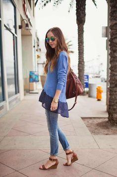 Add a Chiffon Hem | Fall Fashion Trends You Can DIY On The Cheap