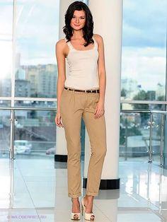 бежевые брюки с чем носить женщинам: 18 тыс изображений найдено в Яндекс.Картинках
