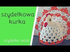 Szydełko Wioli - Szydełkowa Kwoczka Kurka 🐔 - YouTube Crochet Coaster Pattern, Thread Crochet, Nativity, Snowflakes, Kids Rugs, Make It Yourself, Blog, Barbie, Potholders