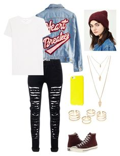 """""""Untitled #27"""" by ireneintan on Polyvore featuring Urban Outfitters, High Heels Suicide, IRO, Converse and Forever 21"""