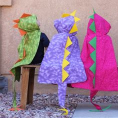 This would be cute for the kiddos to pretend to be dragons at the birthday party...