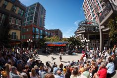 Out To Lunch Concert Series, Downtown Seattle Harbor Steps