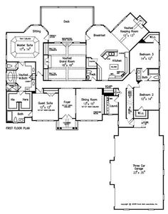 Home Plans and House Plans by Frank Betz Associates -- not this specific plan, but there are some good ones.