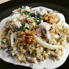 Quinoa façon risotto ! Dîner gourmand et sain <3 #bio #vegetarien #sain #instafood #miam #onafaim #quinoa